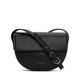 Vegan Rith Saddle Bag - Black