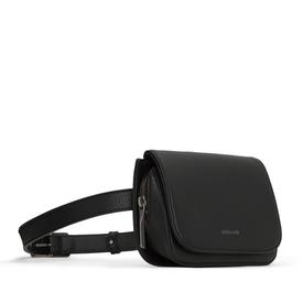 Vegan Waist Bag - Black