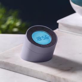 Edge Light Alarm Clock - Grey