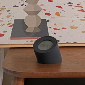 Edge Light Alarm Clock - Black