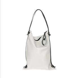 Lilly Leather Bag - White WHITE