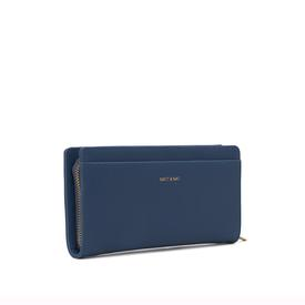 Vegan Webber Wallet - Cosmo Blue