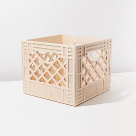 Square Wood Crate