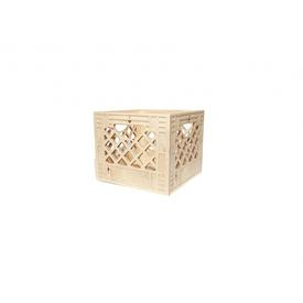 Mini Square Wood Crate