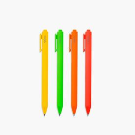 Warm Vivid Gel Pen Set