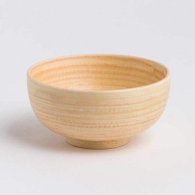 Bamboo Salad Bowl - Natural