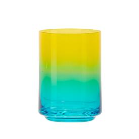 Gradient Drinking Glass - Miami YELLOW_BLUE