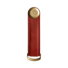 Leather Key Organizer - Red RED