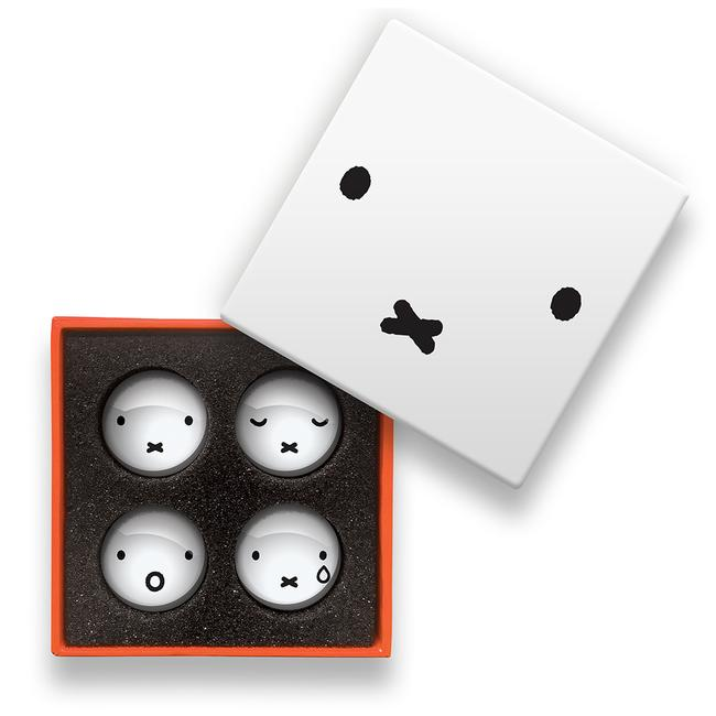 Miffy Faces Magnet Set