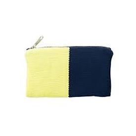 Polder Zip Pouch - Navy Blue and Yellow