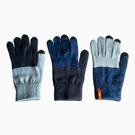 Pair and Spare Gloves - Navy, Blue, Marl NAVY_BLUEMARL