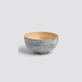 Mini Bamboo Bowl - Eggshell