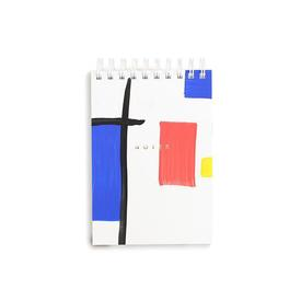 Mondrian Inspired Mini Notepad