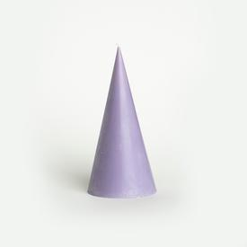 Lavender Scented Cone Candle