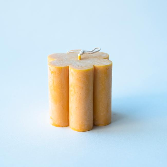 Soy Daisy Candle - Yellow