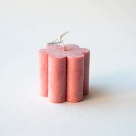 Soy Daisy Candle - Rose