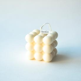 Cloud Soy Candle - White