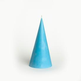Cone Soy Candle - Sky Blue