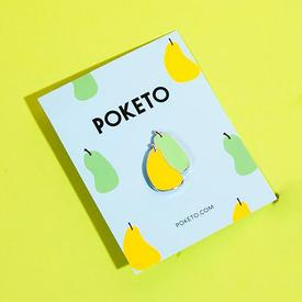 Pear Slices Pin