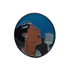 Billie Holiday Pin