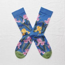 Iris Blue Socks BLUE_MULTI