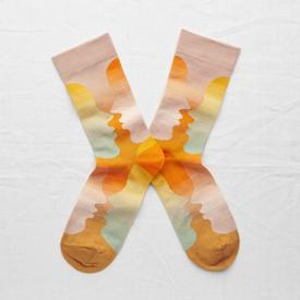 Orange Faces Socks