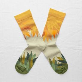 Sunbeam Socks ORANGE_GREEN