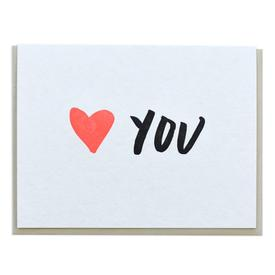 Heart You Greeting Card
