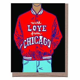 With Love from Chicago Greeting Card