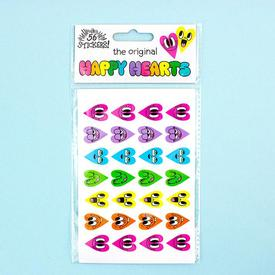 Happy Hearts Sticker Set MULTI