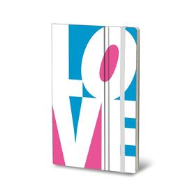 LOVE Notebook - White WHITE