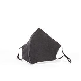 Shunyu Linen Face Mask - Charcoal EAR_LOOP