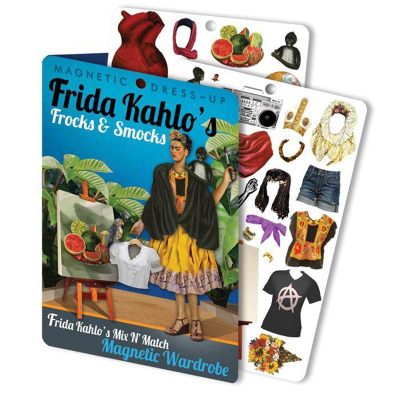 Frida Kahlo Magnetic Dress- Up
