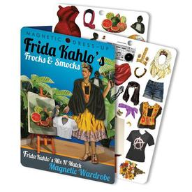 Frida Kahlo Magnetic Dress-Up