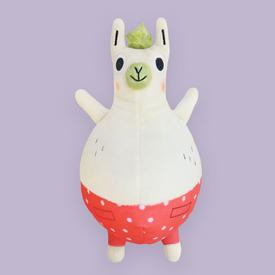 Llama Destroys the World Plush