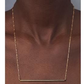 Bar Necklace - Long