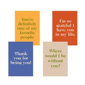 Gratitude Greeting Card Set