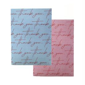 Thank You Greeting Color Set of 4