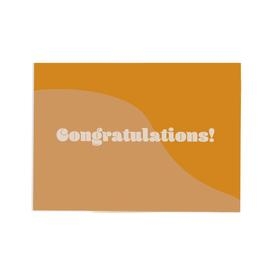 Retro Congratulations Greeting Card