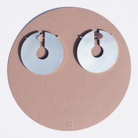 The Big Circle Earrings - Sterling Silver STERLING_SILVER