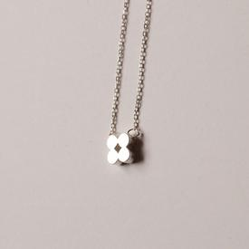 Clover Necklace - Sterling Silver STERLING_SILVER