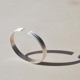 Three Triangle Bracelet - Sterling Silver