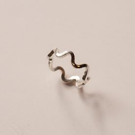 Squiggle Ring - Sterling Silver