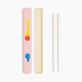 Takenaka x Poketo Chopstick Case - Pink