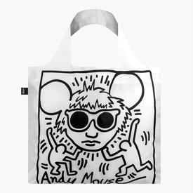 Keith Haring Tote Bag - Andy Mouse