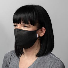 Shunyu Linen Face Mask - Charcoal