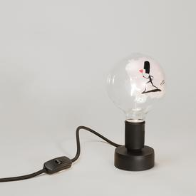 Flower Tattoo Bulb Lamp