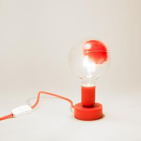 Gradienti Bulb Lamp - Red