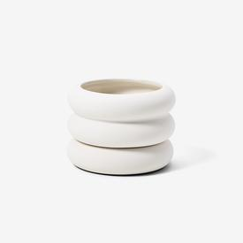 Stacking Planter Mini - White WHITE
