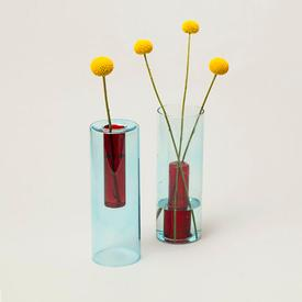 Reversible Vase - Red Blue